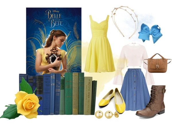 belle beauty and the beast style